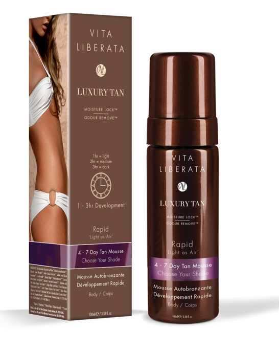 Tinted Self Tan Mousse - Rapid - Choose Your Shade
