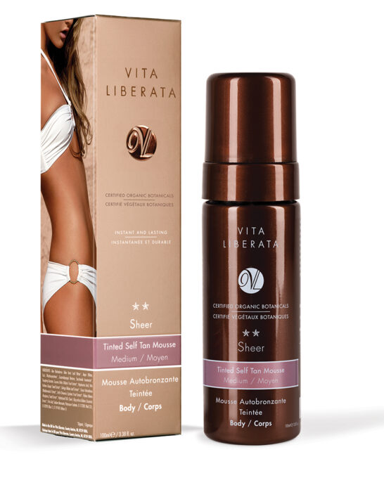 Tinted Self Tan Mousse - Sheer - Medium